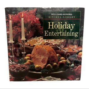 Williams Sonoma Holiday Cooking Recipe Book